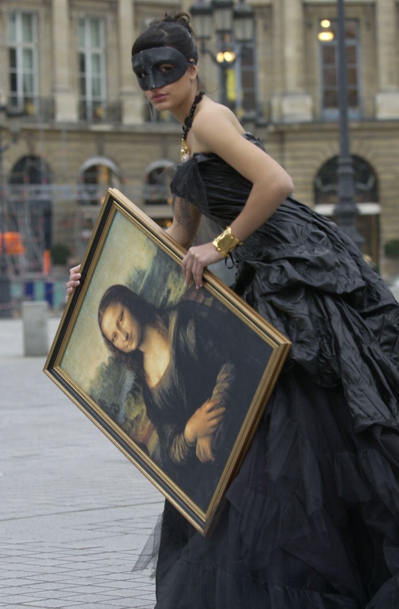 Mona Lisa (la Joconde) - huile sur bois de Leonardo da Vinci