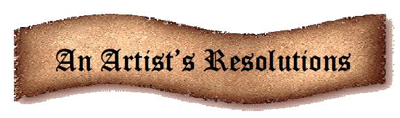 Artists-resolutions